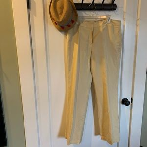 NWOT Cream Trousers